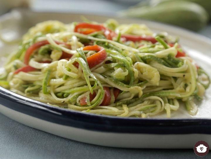 Espagueti de calabacitas sin gluten