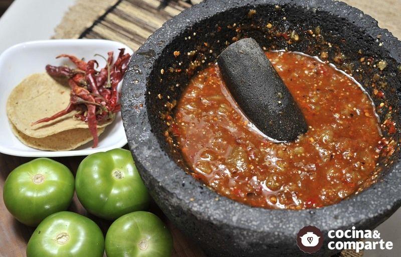 Receta Salsa De Tomate Con Chile De árbol Cyc