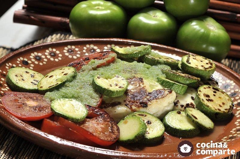 Receta Queso asado con verduras | CyC