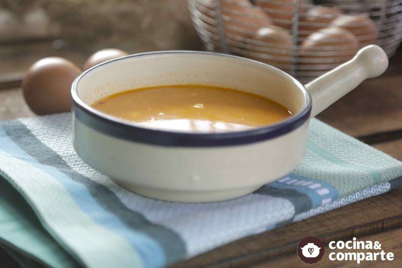 Sopa de papa Abuelita Amada
