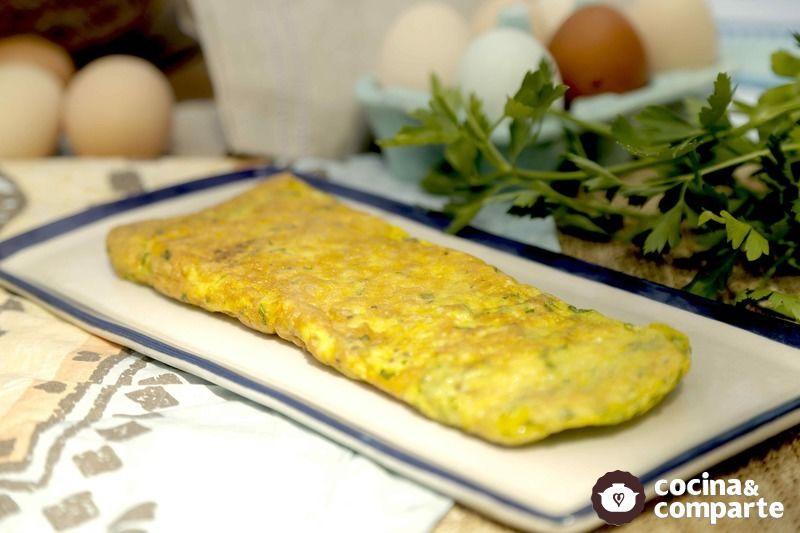 Omelette de perejil
