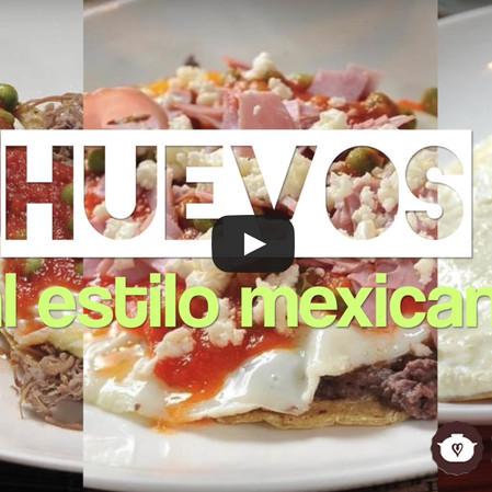 Huevos al estilo mexicano