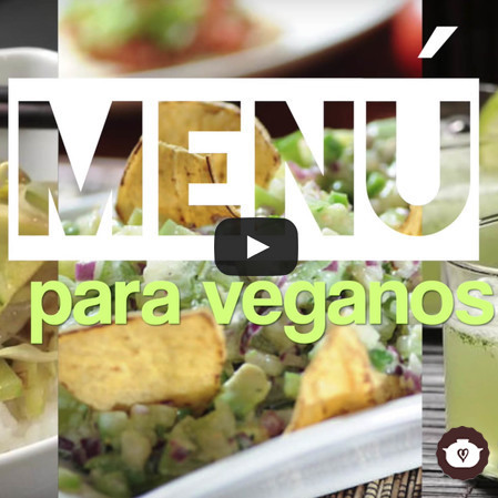 Menú para veganos