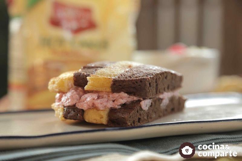 Sandwich de helado