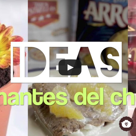Ideas para amantes del chocolate
