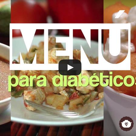Menú para diabéticos