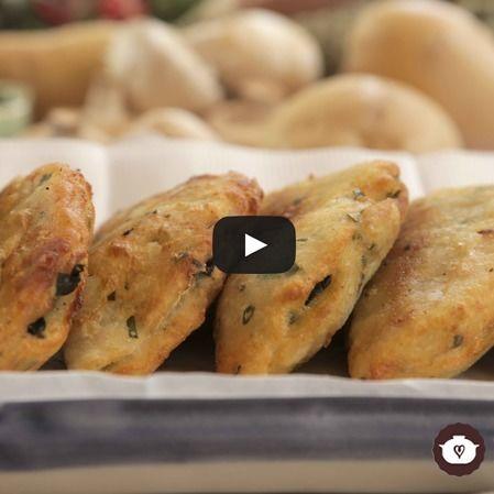 Empanadas de papa con espinaca de Nueva Zelanda