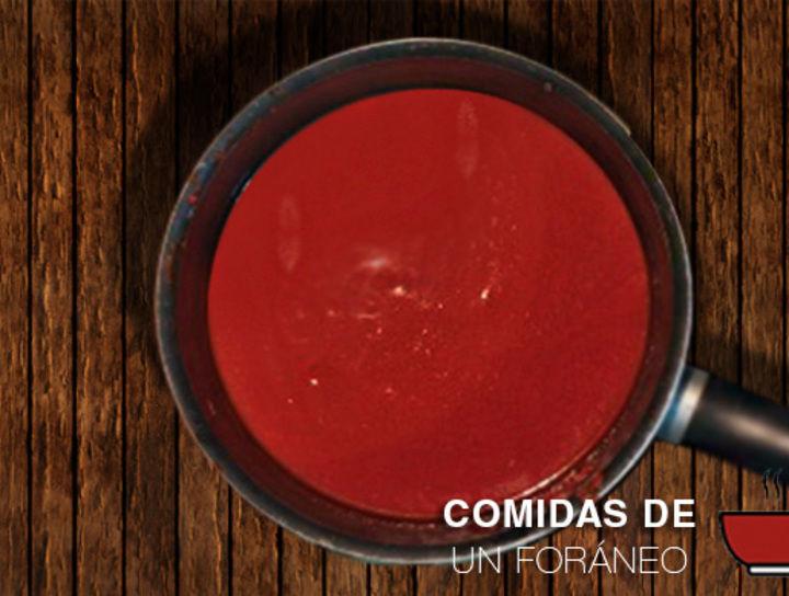 Salsa Roja para Chilaquiles o Enchiladas