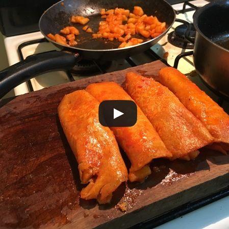 Enchiladas Michoacanas | Enchiladas Rojas de Papa