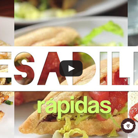 Quesadillas rápidas