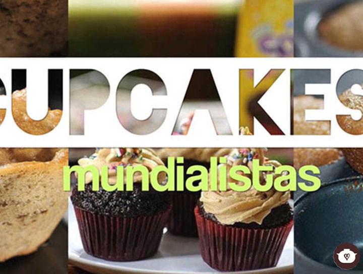 Cupcakes mundialistas