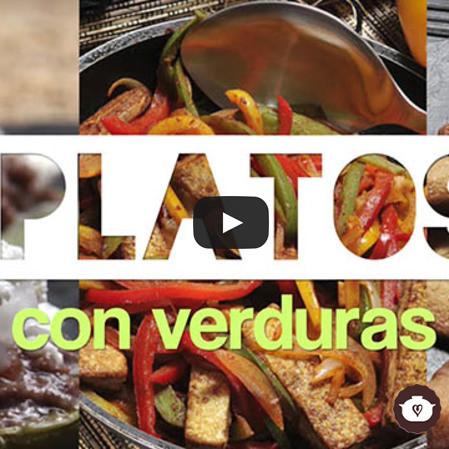 Platos con verduras