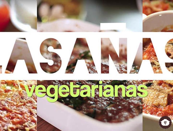 Lasañas vegetarianas