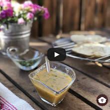 Salsa de tomate de árbol o tamarillo