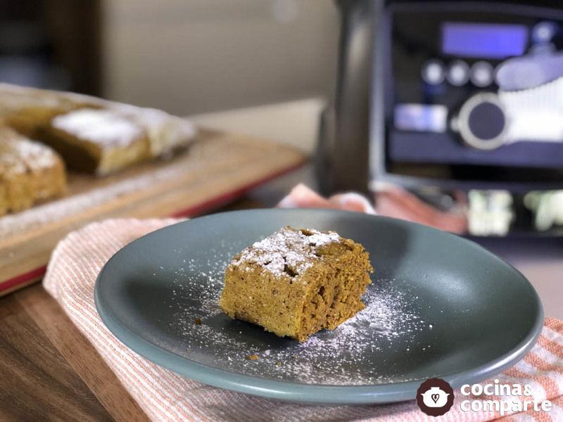 Brownies con calabaza de Castilla