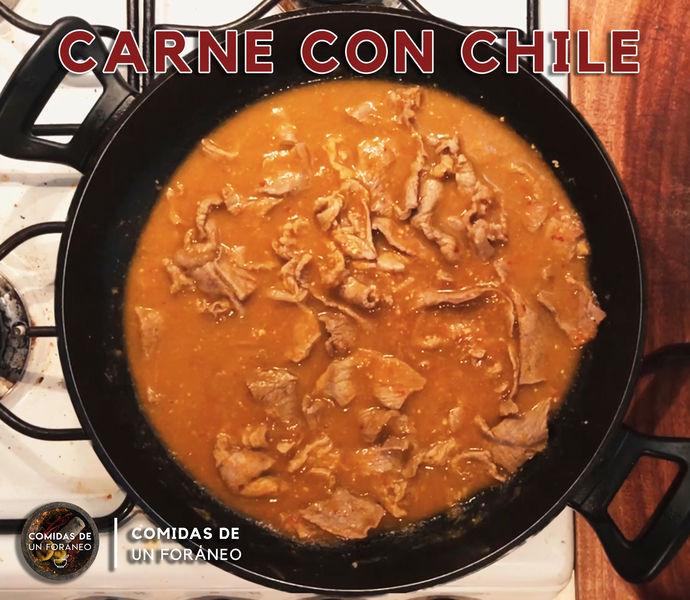 Bistec con Chile