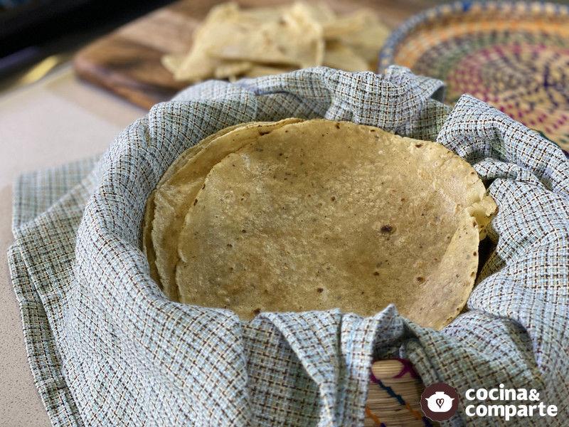 Tortillas- Consejos para conservar y revivirlas