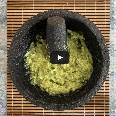 Guacamole estilo Chilango