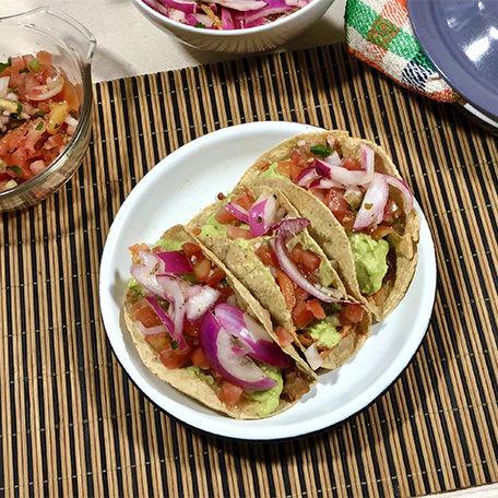 Tacos de Camarón Capeados