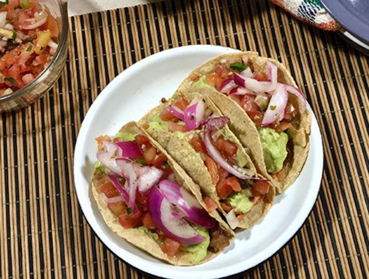 Tacos de Camarón Capeados estilo Ensenada