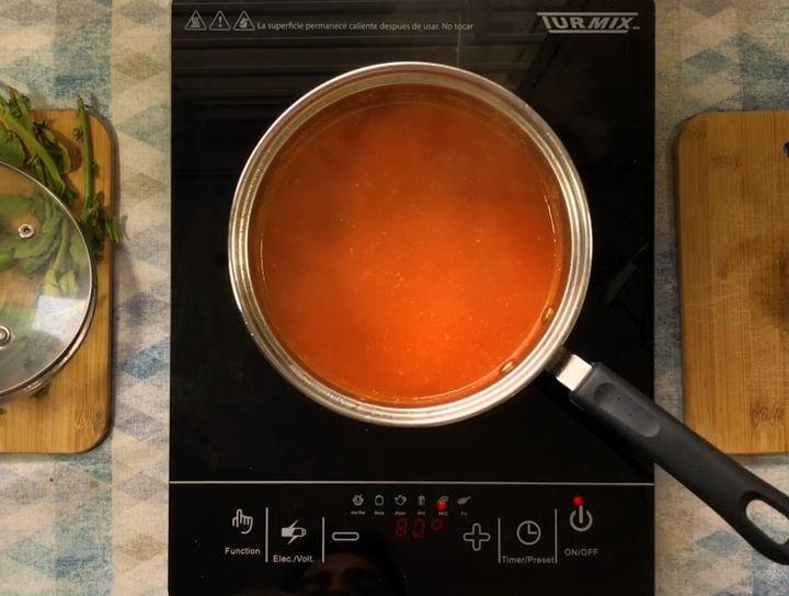 Salsa Roja para Entomatadas y Chilaquiles sin chile