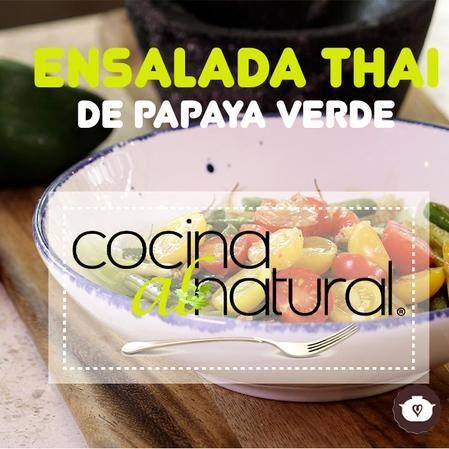 Ensalada Thai de papaya verde