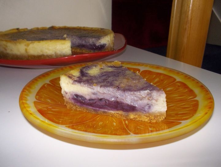 Cheese cake the blueberrys