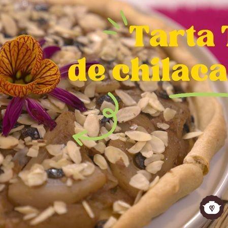 Tarta Tatin de chilacayote