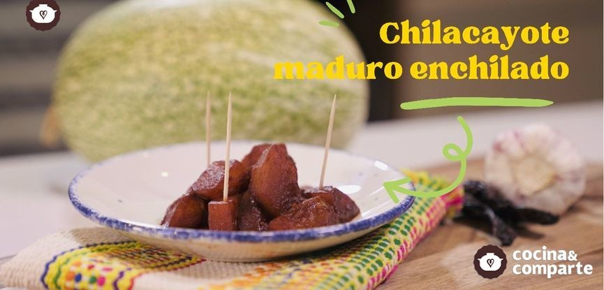 Chilacayotes maduros enchilados