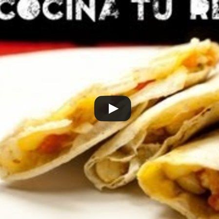 Quesadillas de Atún