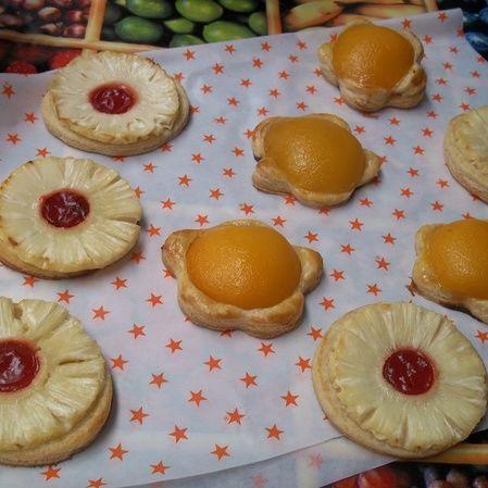 Tartas de Piña y Durazno