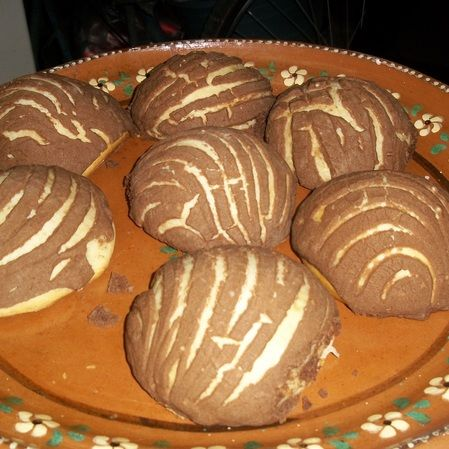 Conchas de Chocolate
