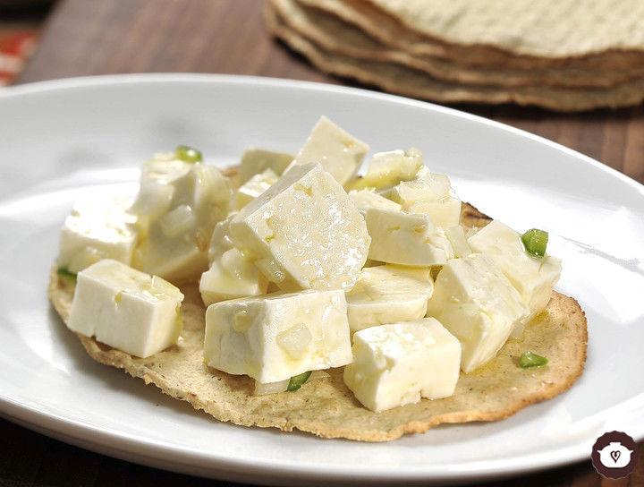 Ceviche de queso panela