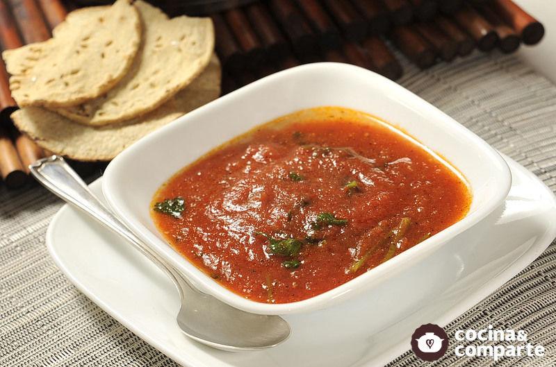 Recetas cocina salsa ranchera