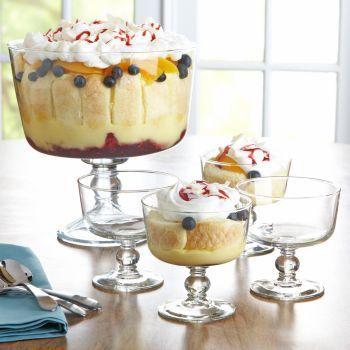 Trifle de Frutas Vainilla y Chocolate