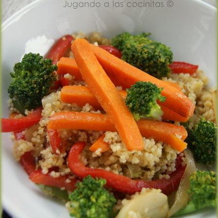 Couscous de brócoli