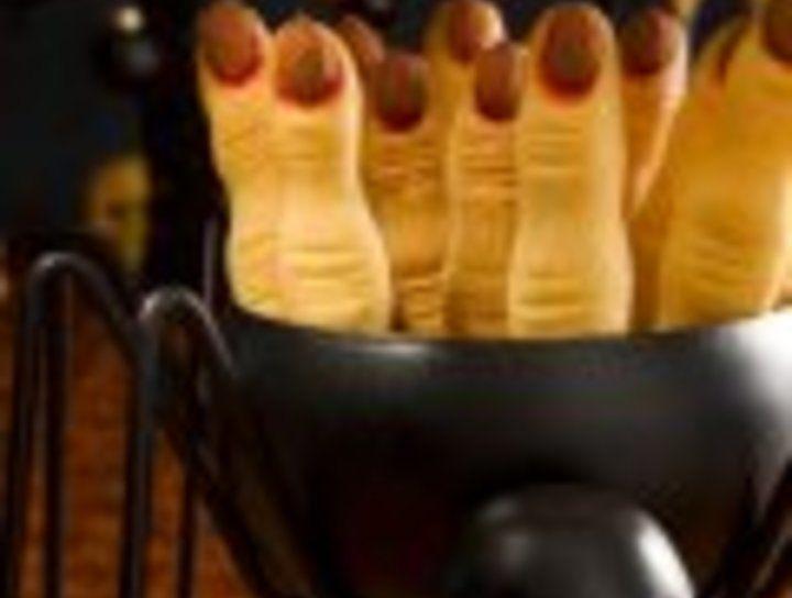 Galletas de dedos de bruja