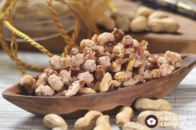 Cacahuates garapiñados