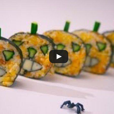 Sushi de Halloween