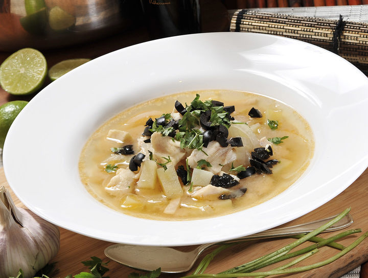 Sopa de pescado a la provenzal