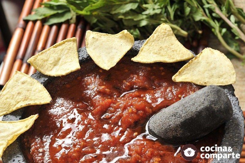 como hacer salsa de pepino con chile de arbol