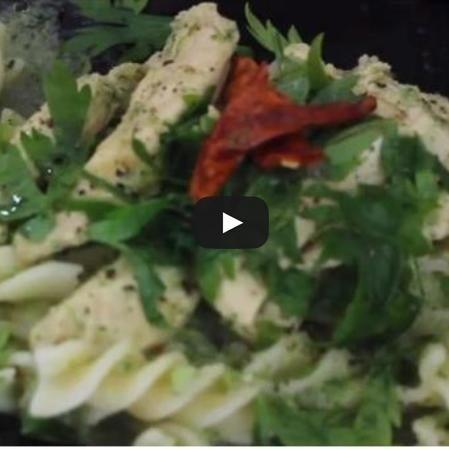 Fusilli con salsa de Brócoli