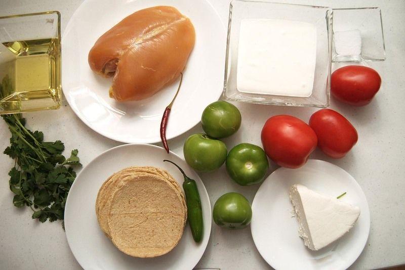 Resultado de imagen para ingredientes para enchiladas