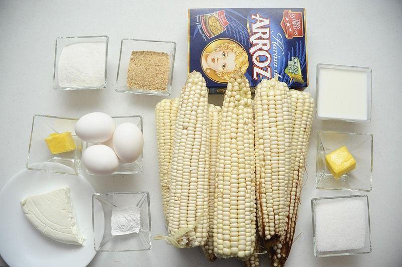receta para hacer pan de elote fresco