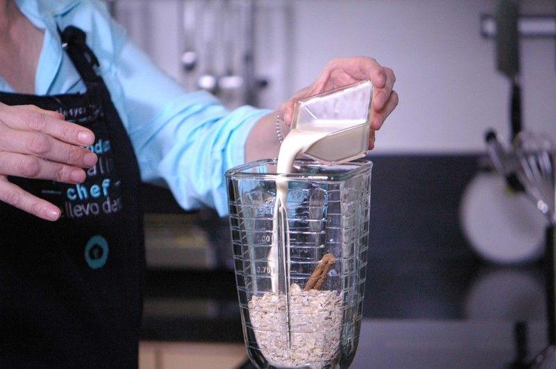 Añadir leche evaporada.