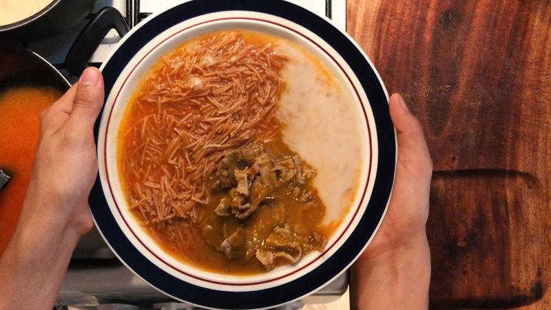 Finalmente si el platillo le falta más salsa o picor añada otros 250 ml de la salsa de chile de árbol, disfruta con una sopa de fideo con frijoles y tortillas.