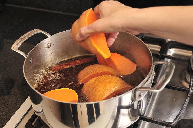 tiempo de coccion de la calabaza