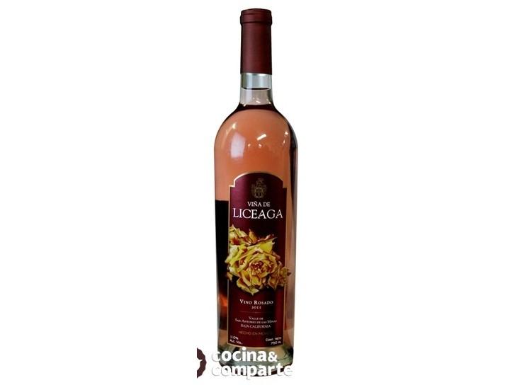 Rosado Viña de Liceaga - Merlot, Grenache, Syrah