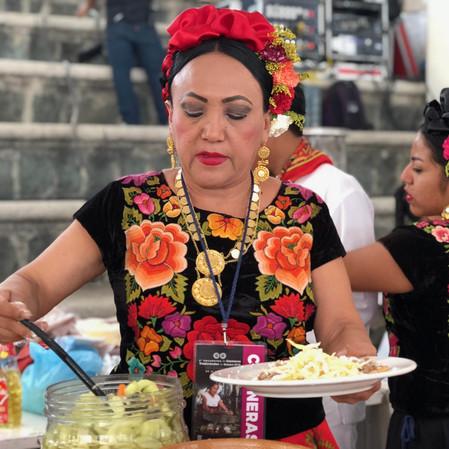 III Encuentro de Cocineras Tradicionales en Oaxaca