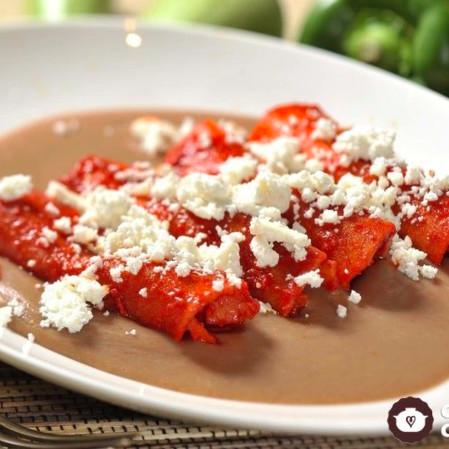 enchiladas jicama